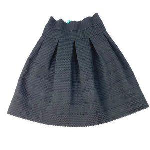 GIRLS FROM SAVOY Anthro Black Bandage Skirt Sz L